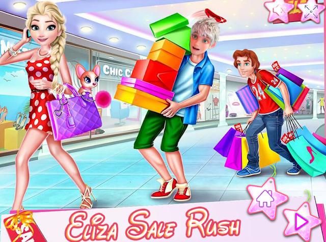 alışveriş kız oyunu