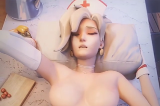 3D Animation Mercy Overwatch Pack07