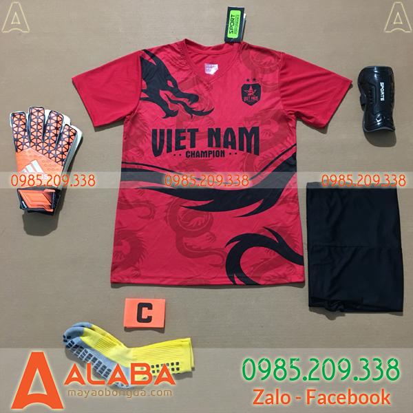 Áo Việt Nam 2020 Training 14 Màu Đỏ