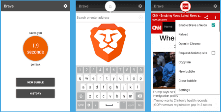 brave web browser apk