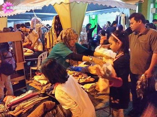 #freemarketPandanPrihatin Di Dagang Avenue Food Court, Ampang