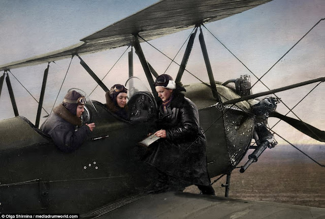 Yevdokia Bershanskaya Night Witches worldwartwo.filminspector.com