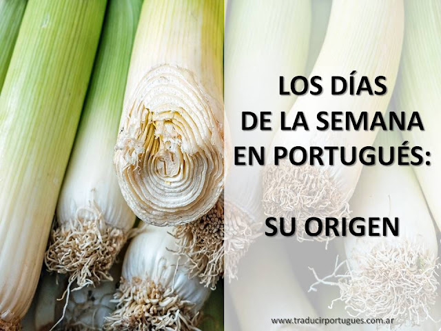 días, semana, portugués, lunes, martes, miércoles
