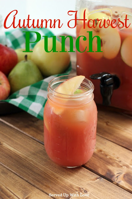 Autumn Harvest Punch recipe from Served Up With Love