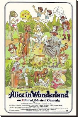 Alicja w krainie czarów film erotyczny musical komedia plakat