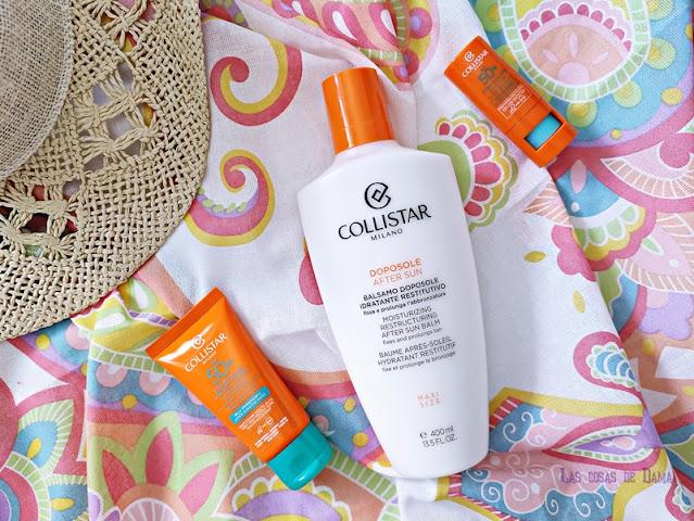 Protección solar Collistar sunprotect suncare alta cosmética beauty belleza
