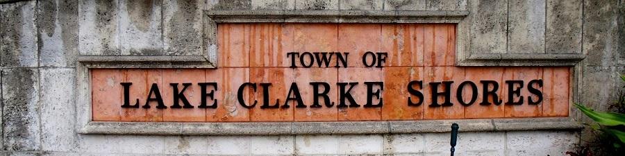 Entrando en Lake Clarke Shores