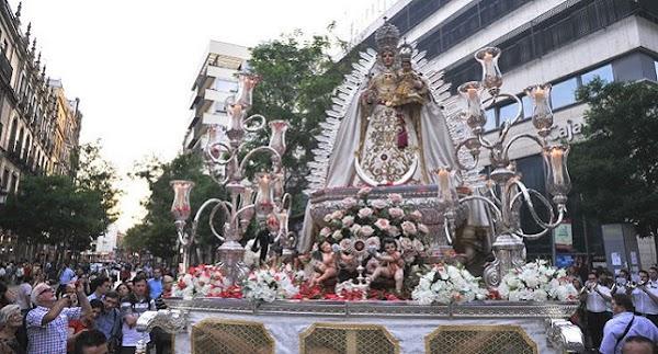 Horario e Itinerario Salida procesional de la Virgen de Araceli en Sevilla