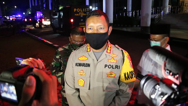Masyarakat Pontianak Dinilai Masih Minim Kesadaran Dalam Pencegahan Covid-19, Polda Kalbar Kerahkan Patroli Skala Besar