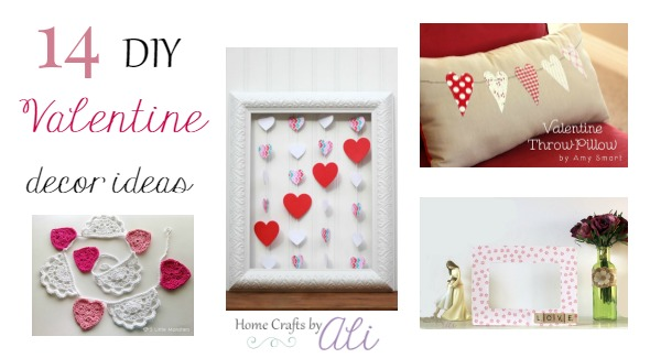 14 diy valentine decor ideas home crafts by ali for B day decoration ideas