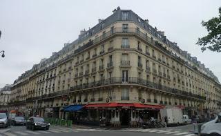 Edificios típicos de Paris.