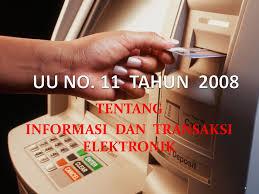 Etika Profesi Teknologi Informasi Latar Belakang Undang Undang Ite Informasi Transaksi Elektronik