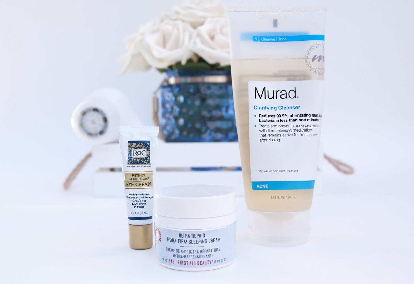 the simple three step system that works for my oil skin.
