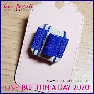 One Button a Day 2020 by Gina Barrett - Day 7 : Like, Totally...