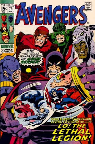 Avengers #79, Lethal Legion