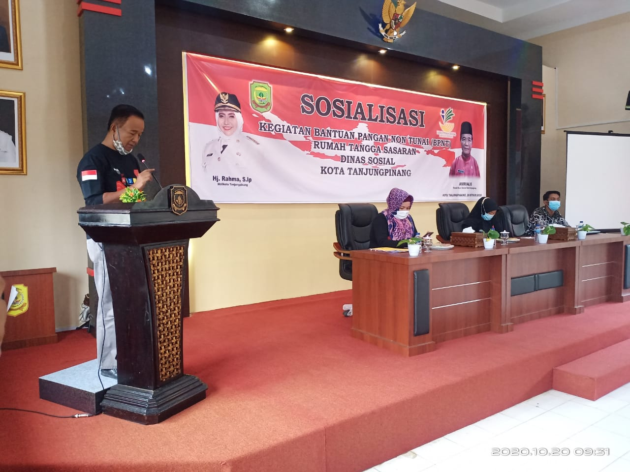Dinsos Tanjungpinang Gelar Sosialisasi Bantuan Pangan Non Tunai