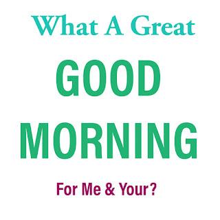 Great Love Good Morning Image