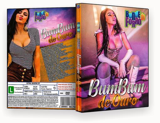 CAPA DVD – Bonde Do Forró Bum Bum De Ouro – ISO