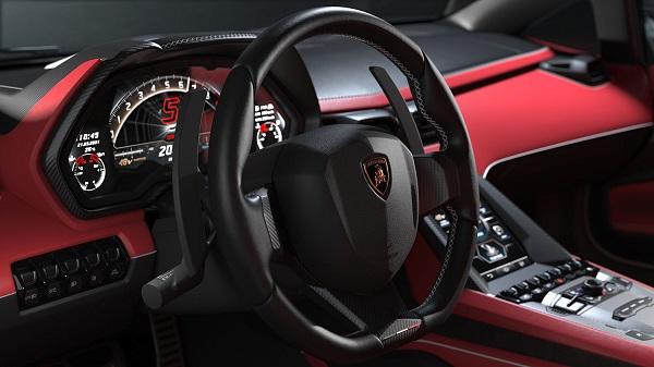 Interior Lamborghini Countach LPI 800-4