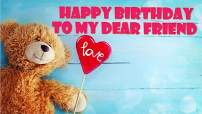 birthday wishes for friend with images