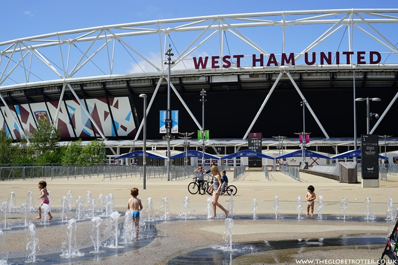 Fountains at West Ham United