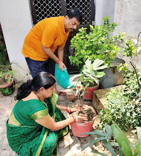 जीवन जीने योग्य वातावरण प्रदान करता है स्वस्थ पर्यावरणः राकेश श्रीवास्तव  | #NayaSaberaNetwork