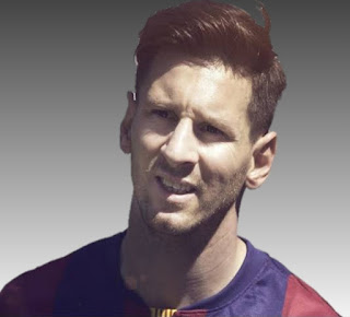 Lionel Messi is a famous football player. His father was a steel factory manager and mother worked as a part time cleaner.