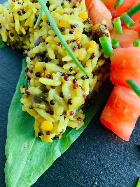 Quinoa-Linsen-Reis, Rezept glutenfrei & vegan, Minimalismus: Zubereitung einfach + schnell, Healthy Food Style, Blog, Rezeptinspirationen für jeden Tag, gesund und lecker, Rezeptideen, schnelle Rezepte, entdecken, leicht