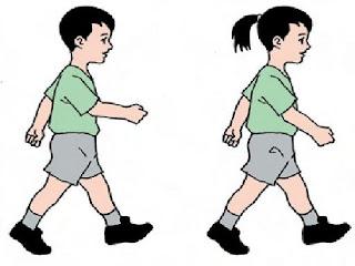 perbedaan lari dan jalan cepat dalam olahraga,,lari dengan jalan