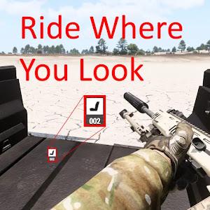 乗りたい座席に直接乗れる Arma 3 用 Ride Where You Look MOD