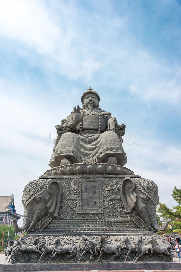 Statue of Altan Khan in Inner Mongolia