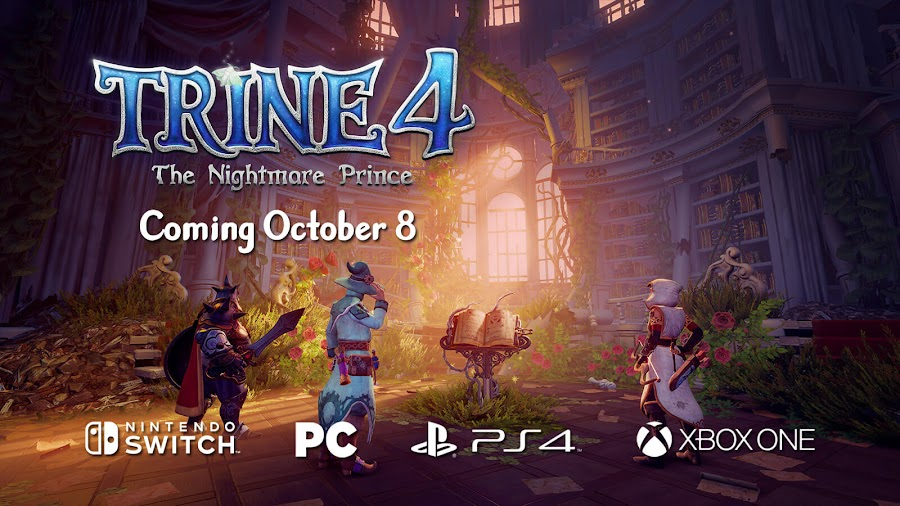 trine 4 release date october 8 frozenbyte modus games switch pc ps4 xbox one