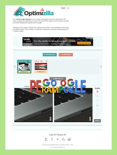 Mengoptimalkan gambar postingan blogger dengan cara dikompress
