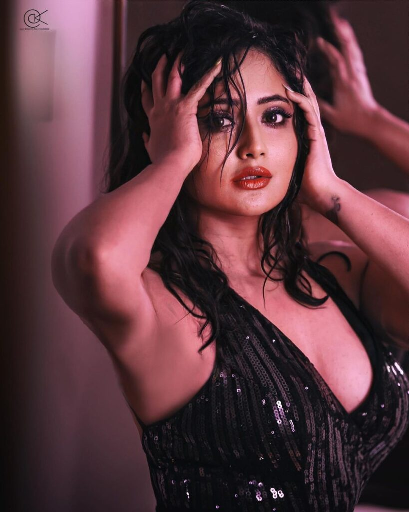 Pictures: Rashami Desai Is A Stunner In A Black Sequin Dress