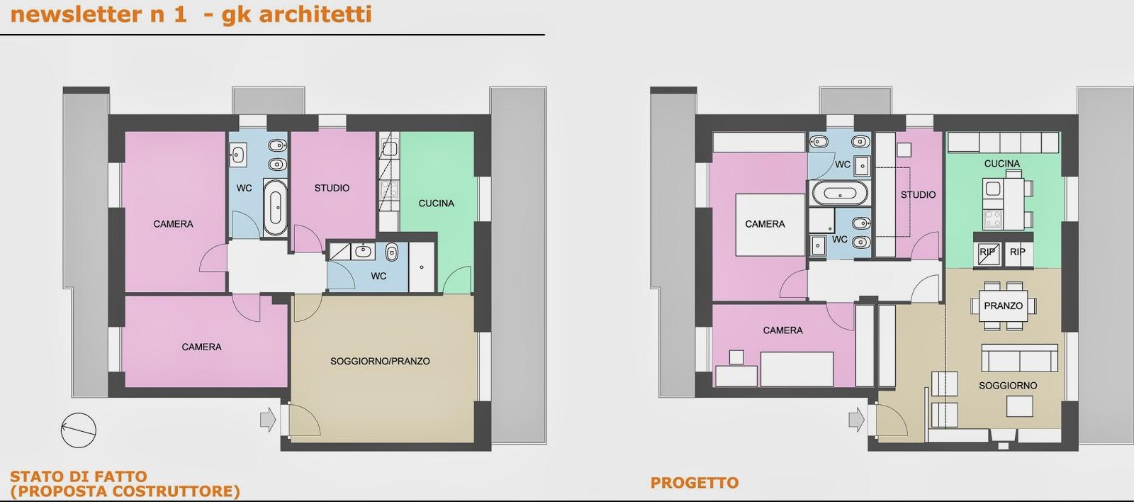 Appunti di architettura progettati da gk architetti casa m for Case realizzate da architetti