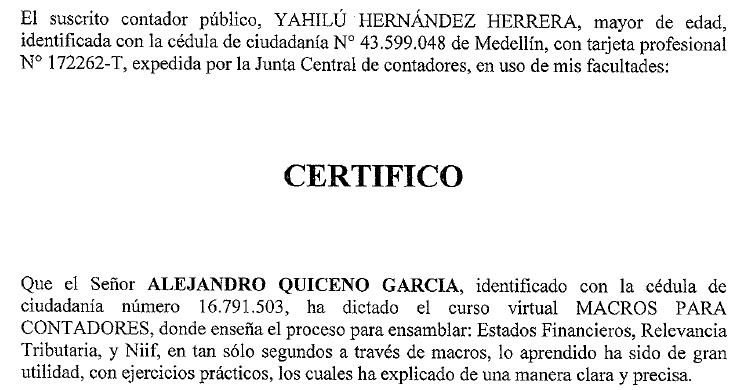 descargar certificado junta central de contadores