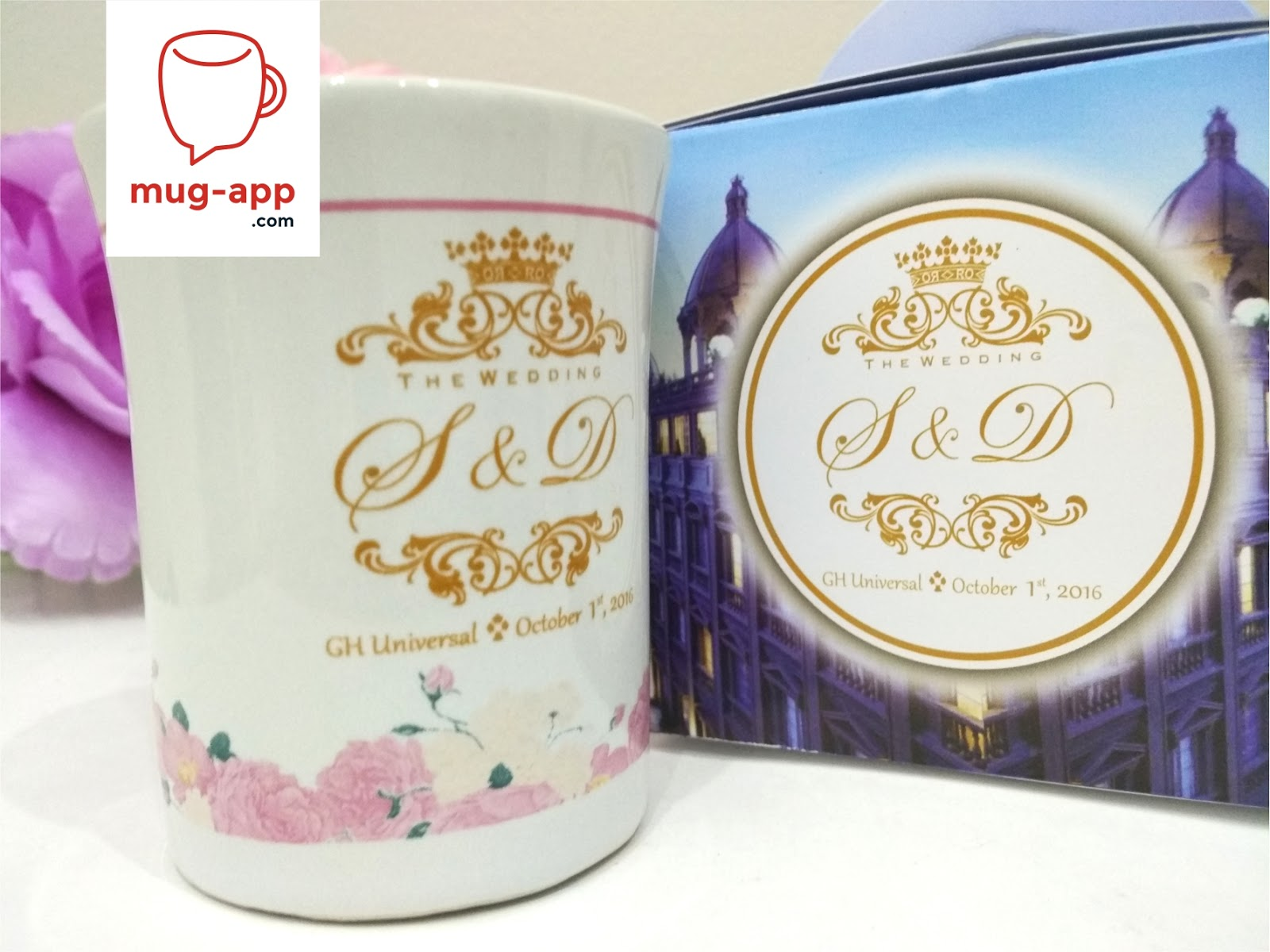 Mug Souvenir Pernikahan