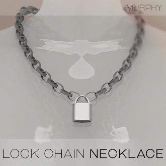 Lock Chain Necklace