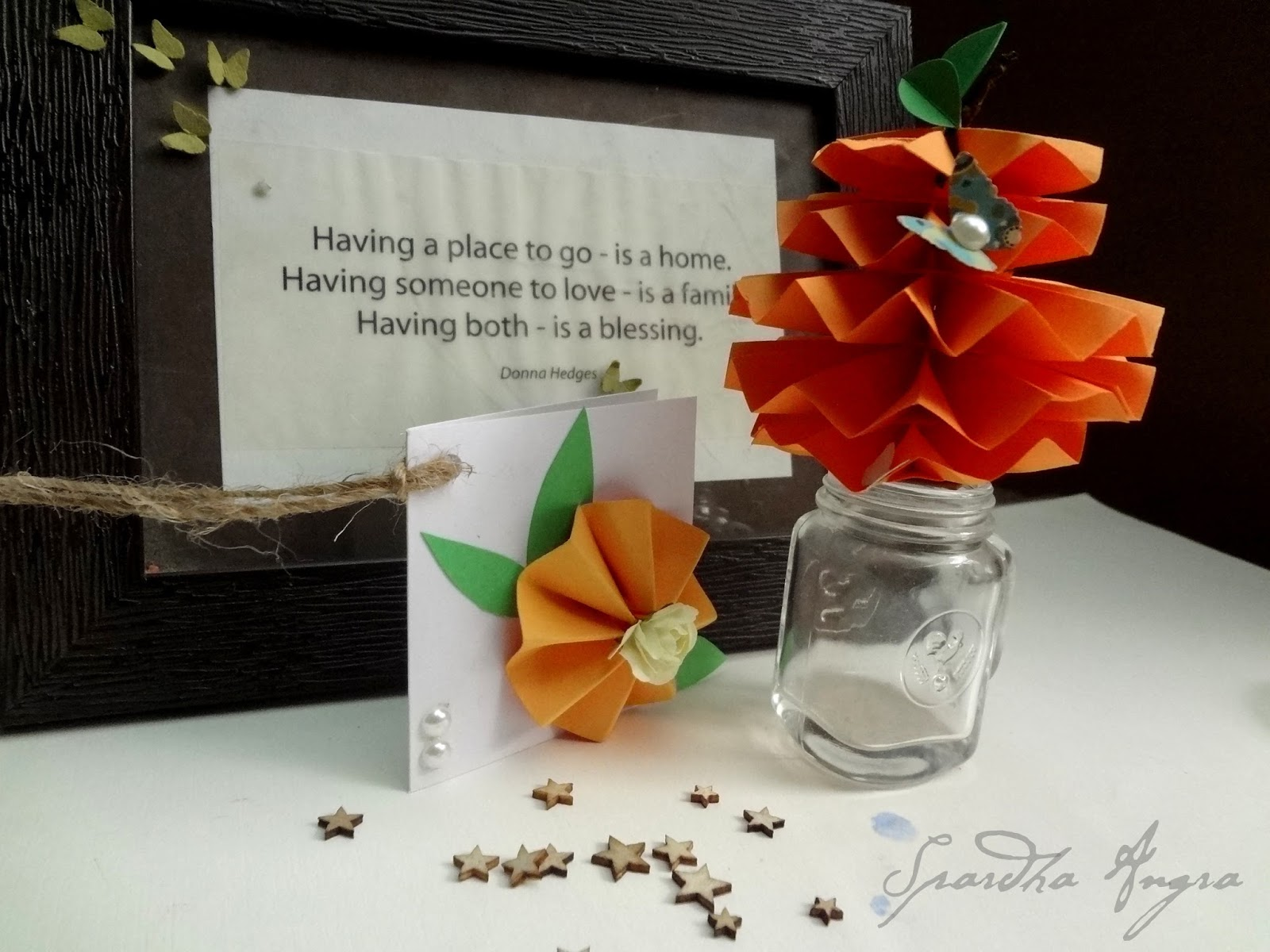 Welcome Fall Diy Tutorial Handmade Paper Flowers And Ornaments