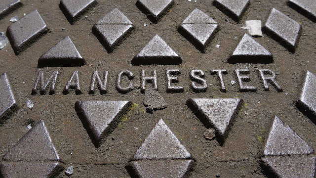Manchester Man Hole Cover