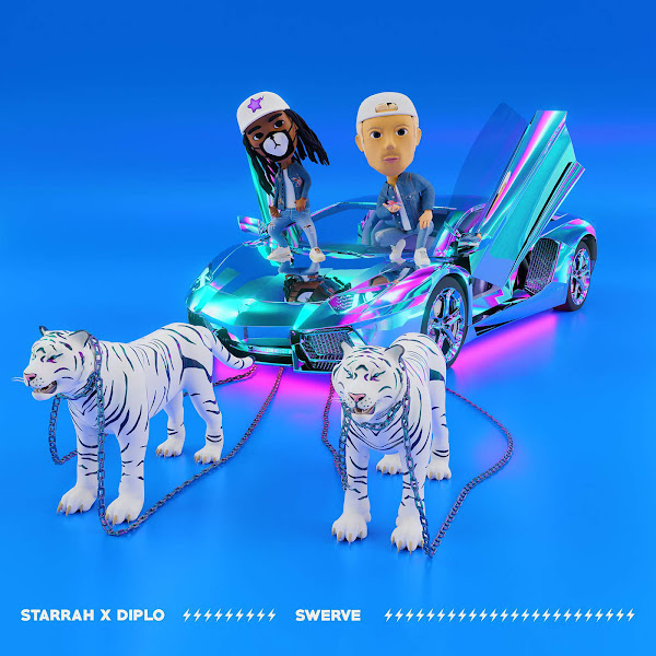 Starrah & Diplo - Swerve - Single Cover