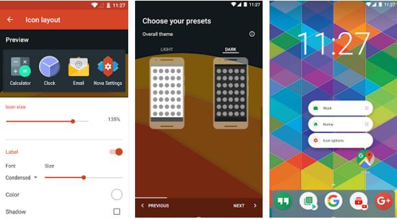تحميل التحديث الجديد لتطبيق Nova Launcher مع ميزة الاشعارات الديناميكية