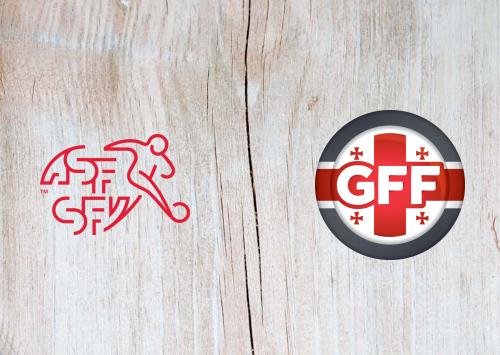 Switzerland vs Georgia -Highlights 15 November 2019