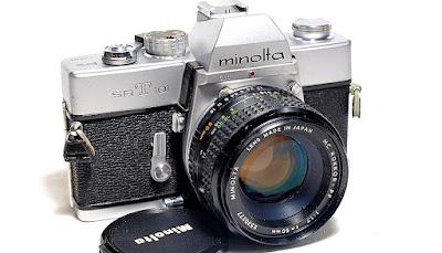 Minolta SRT-101 (Chrome) Body #987, Minolta MC Rokkor-PF 50mm 1:1.7 #277