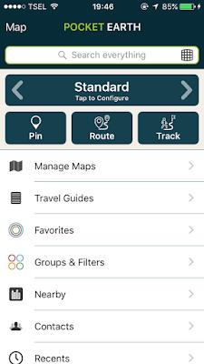 Aplikasi Maps Offline Terbaik Untuk iPhone