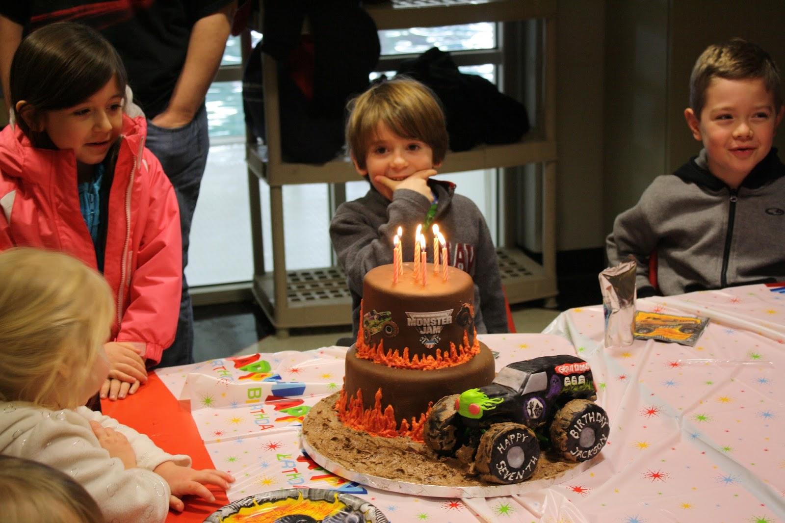 grave digger monster truck birthday