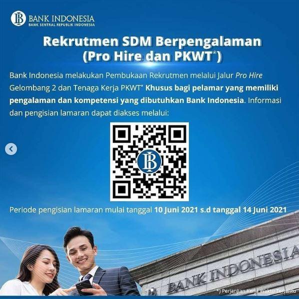 Lowongan Kerja Bank Indonesia   Info Lowongan Kerja Terbaru 2021