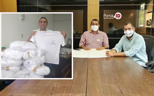 Em reunião intermediada por Bruno Dauaire  Fundação da Infância de Campos recebe doação de
