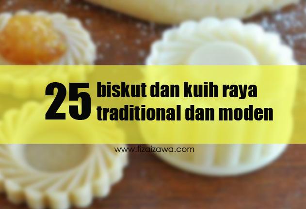 25 jenis biskut dan kuih raya popular rakyat Malaysia