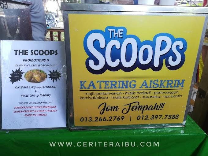 The Scopps Aiskrim Durian D24 Viral di Melaka